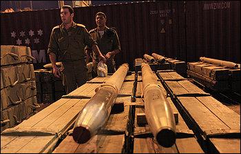 Iranian arms for Hezbollah
