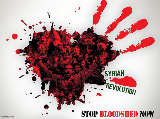 syria stop bloodshed now
