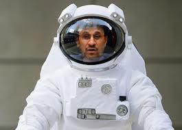 ahmadinejad astronaut