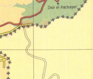 deir al aachayer map