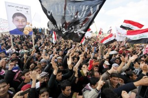 iraq protest against maliki government