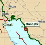 iran bushehr map