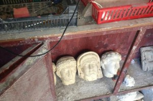 syrian antiquities recovered in lebanon