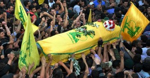 hezbollah funeral 0918