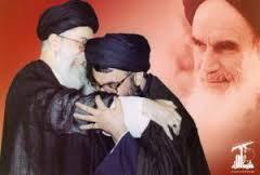 nasrallah kissing khamanei's hand