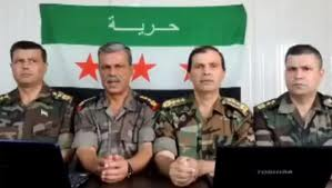 Four high-ranking Syrian Army officers who have defected to the opposition in June 2011 were identified as Brigadier General Mohammed Zakaria, Brigadier General Abdulla Zakaria, Colonel Ismail Zakaria and Colonel Abdel-hamid Zakaria.
