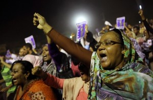 sudin protest anti regime