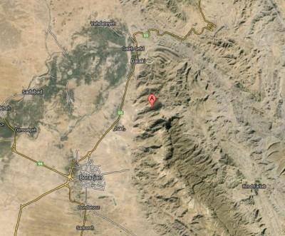 Borazjan iran map quake