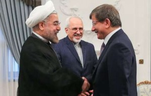 Turkish FM Iran FM Rouhani