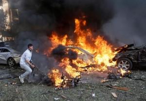 iran embassy in beirut explosiosn 5