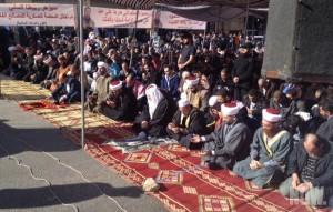 islamists block masnaa road