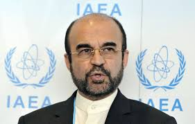 Iran's ambassador to the IAEA Reza Najafi in Vienna .