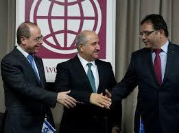 Israel, jordan palestine sign dead sea project