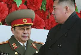Kim Jong Un with uncle