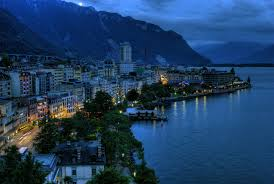 Swiss city of Montreux