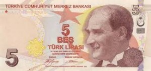 Turkish lira notes 5