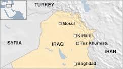 Tuz Khurmatou iraq map