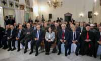 President Michel Sleiman & The First Lady Mrs.Wafaa Sleiman Attend The Opening Ceremony of The Twelve Statues in Baabda Serail in Honor of Former PresidentsSaturday, December 07, 2013