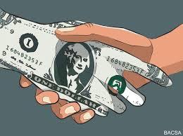 corruption cartoon