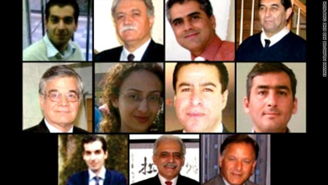 Eleven of the educators detained for teaching members of Iran's Baha'i community.