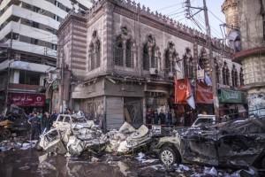 egypt bomb mansoura