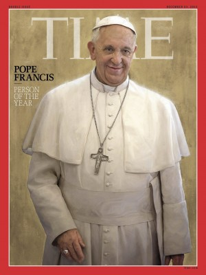 francis , person of the year