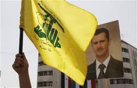 hezbollah flag assad
