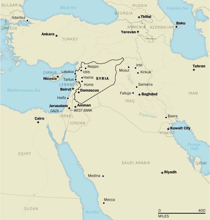 The modern map of the Middle East was created by Europeans less than a century ago. Today, the conflict in Syria is calling into question the viability of those borders, which were frequently drawn with little regard for local communities. Existing frontiers are being eroded and new ones are starting to emerge in ways that challenge the very existence of the region's states.