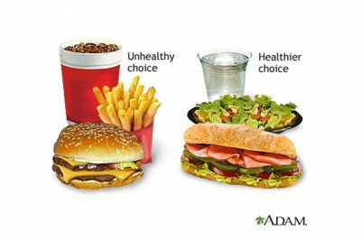 mcdonalds  healthy and unhealthy food