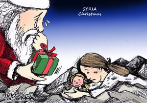 syria  Christams 2013