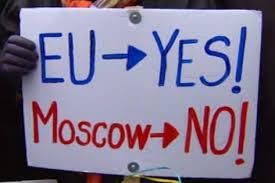 ukraine EU yes  Moscow  no
