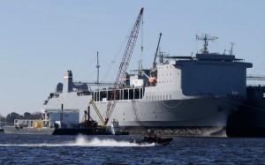 Cape Ray military ship