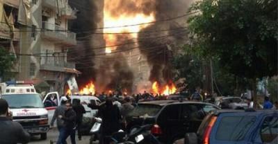 haret Hreik explosion