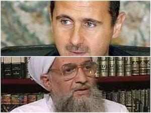 Assad, al qaeda chief