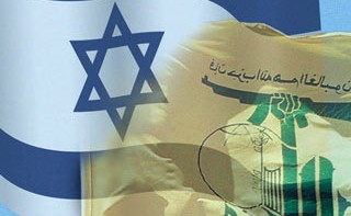 israel-hezbollah-flags