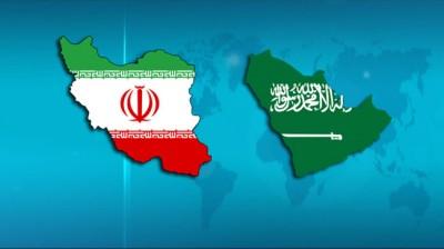 iran saudi flags