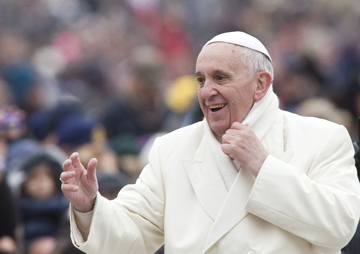 pope francis in Jordan