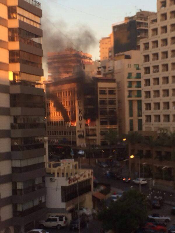 Explosion rocks Duroy ...