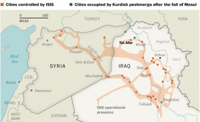 How ISIS is carving out a new country