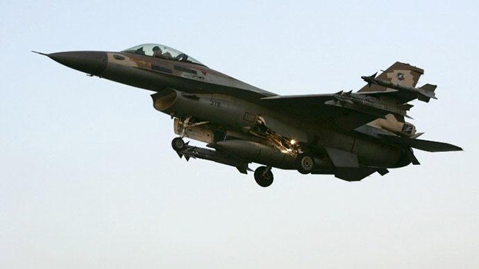 Israeli F16 C fighter jet