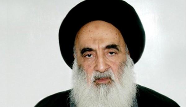 Iraq's top Shiite religious authority Grand Ayatollah Ali al-Sistani