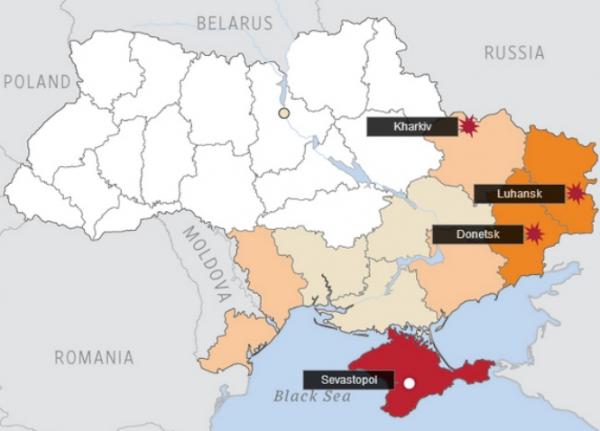 In Ukraine Polls Pro Russian 78