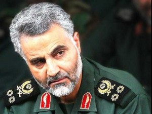 Qassem Suleimani , the head of Iran's Revolutionary Guards elite the Quds Force, has been described by the intell