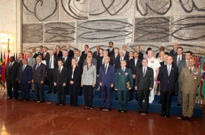 Attendants  of  the International conference for  supporting the Lebanese Army in Rome, Tuesday, June 17, 2014. ( courtesy of Dalati Nohra )