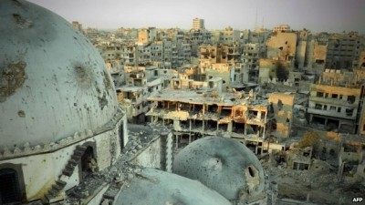 syria aleppo destruction