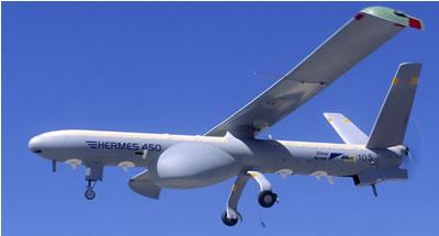 HERMES 450 Israel drone