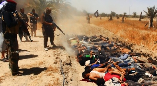 Mass executions by Islamic State in Iraq