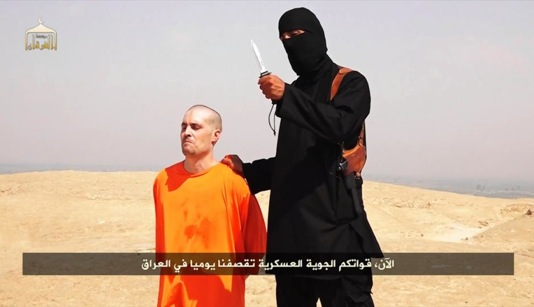 James Foley being beheaded