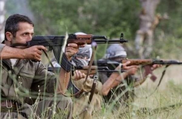 Kurdistan Workers' Party (PKK) fighters