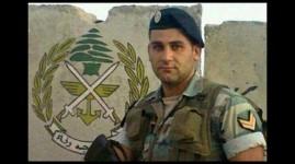 Lebanese soldier Ali al-Sayyed.